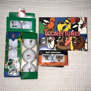 Character Golf Balls